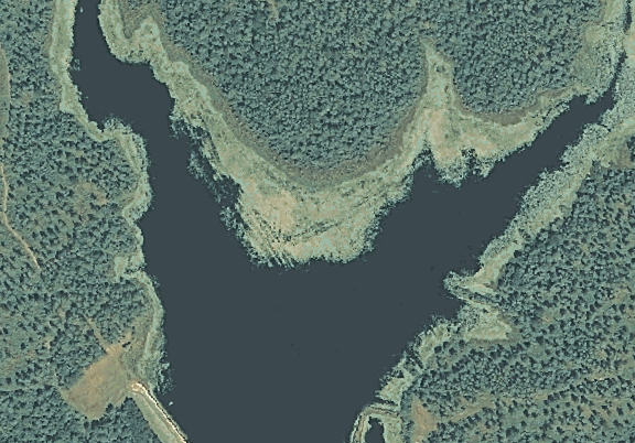 ChartSelect's contour preview for Columbia LakeMaster Layer