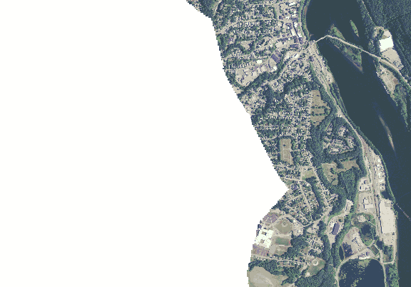 ChartSelect's contour preview for Connecticut River: Hinsdale LakeMaster Layer