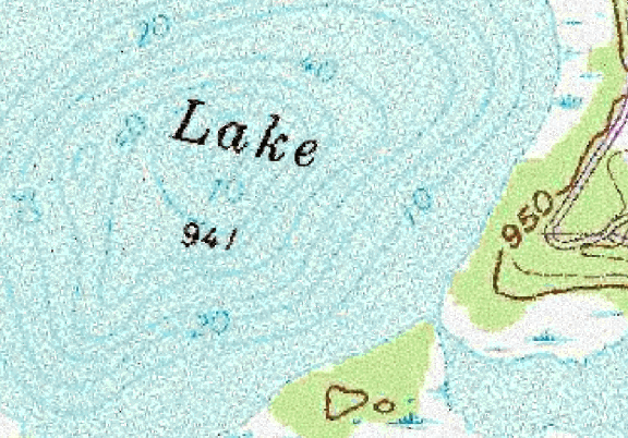 ChartSelect's contour preview for Auburn LakeMaster Layer
