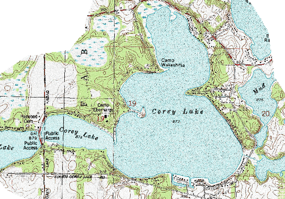ChartSelect's contour preview for Corey LakeMaster Layer