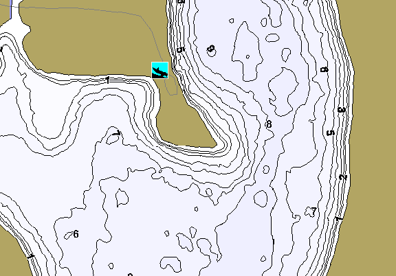 ChartSelect's contour preview for Cottonwood LakeMaster HD Contour
