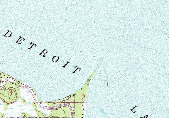 ChartSelect's contour preview for Detroit LakeMaster Layer