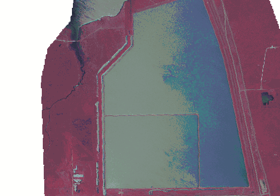 ChartSelect's contour preview for Galveston LakeMaster Layer