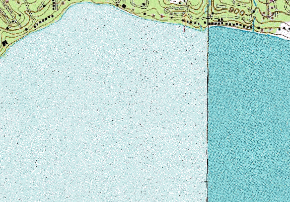 ChartSelect's contour preview for Geneva LakeMaster Layer