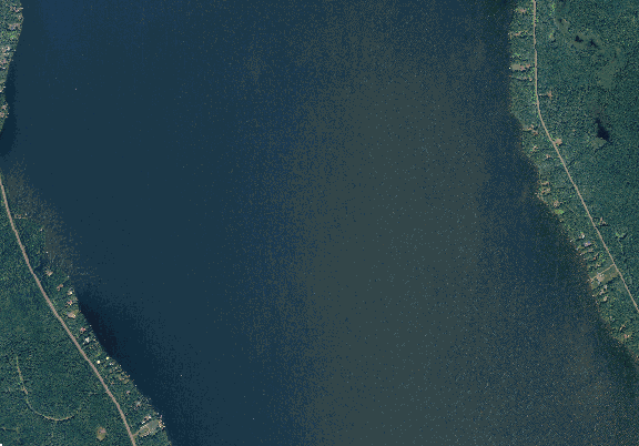 ChartSelect's contour preview for Gogebic LakeMaster Layer