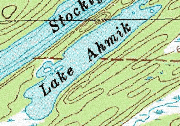ChartSelect's contour preview for Ahmik LakeMaster Layer