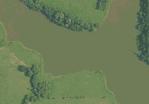 ChartSelect's contour preview for Green City LakeMaster Layer