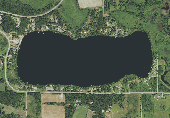 ChartSelect's contour preview for Green Prairie LakeMaster Layer