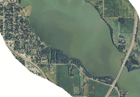 ChartSelect's contour preview for Albert Lea LakeMaster Layer
