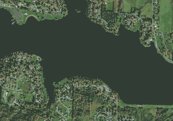 ChartSelect's contour preview for Guilford LakeMaster Layer
