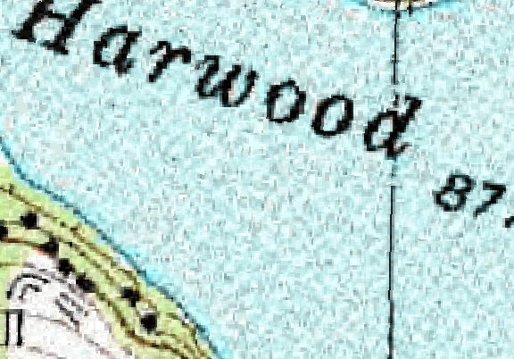ChartSelect's contour preview for Harwood LakeMaster Layer