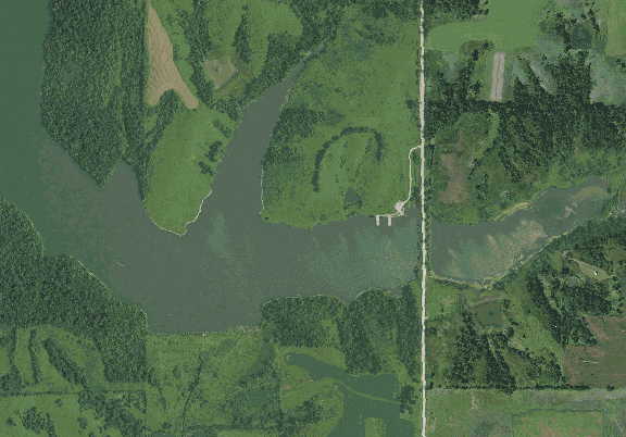 ChartSelect's contour preview for Hawthorne LakeMaster Layer