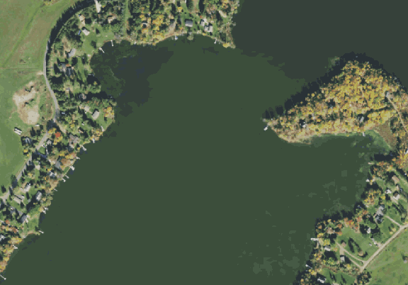 ChartSelect's contour preview for Island LakeMaster Layer