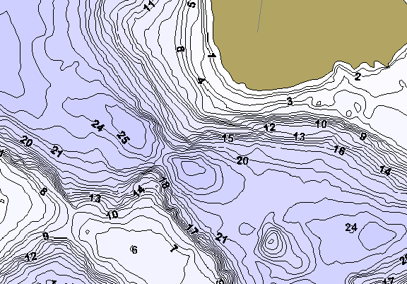 ChartSelect's contour preview for Johanna LakeMaster HD Contour