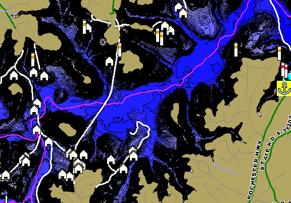 Keowee | Humminbird ChartSelect on topo map of lake wateree, topo map of lake murray, topo map of lake lanier, topo map of lake chatuge, topo map of smith mountain lake, topo map of dale hollow lake, topo map of lake of the ozarks,