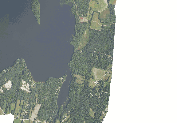 ChartSelect's contour preview for Annabessacook LakeMaster Layer