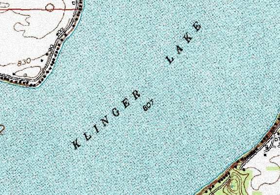 ChartSelect's contour preview for Klinger LakeMaster Layer