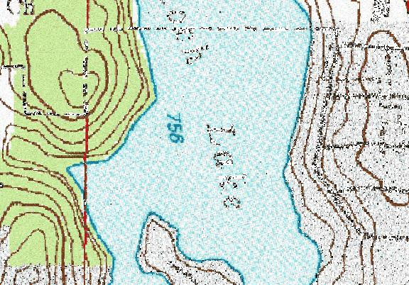 ChartSelect's contour preview for Antioch LakeMaster Layer