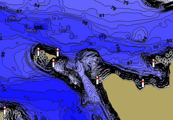 ChartSelect's contour preview for Apache LakeMaster HD Contour