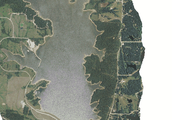 ChartSelect's contour preview for Long Branch LakeMaster Layer