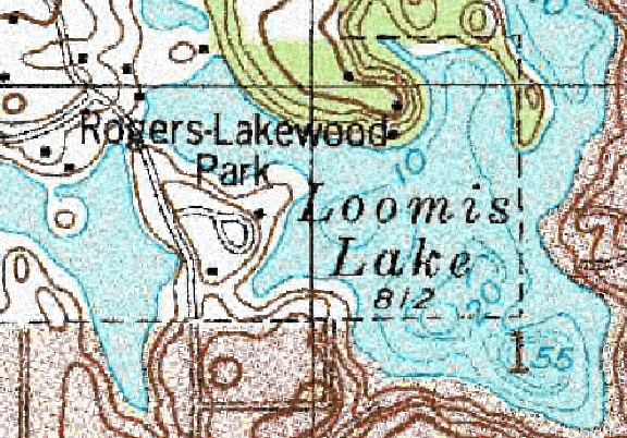 ChartSelect's contour preview for Loomis LakeMaster Layer