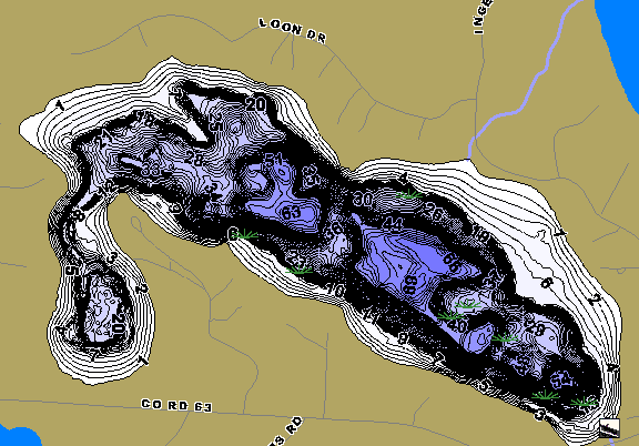 ChartSelect's contour preview for Loon LakeMaster HD Contour