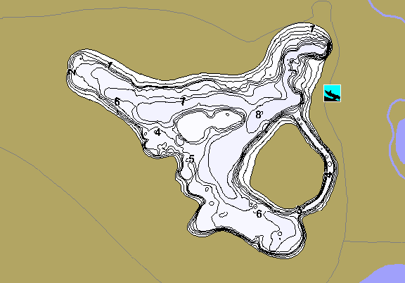 ChartSelect's contour preview for Arnold LakeMaster HD Contour