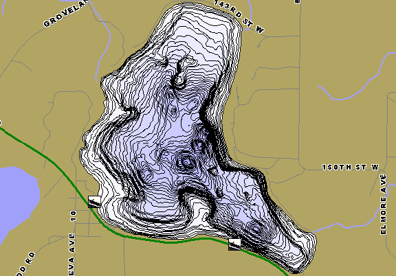 ChartSelect's contour preview for Mazaska LakeMaster HD Contour