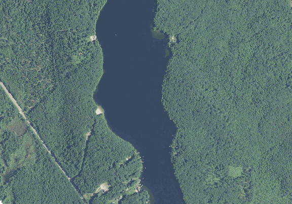 ChartSelect's contour preview for Asnacomet Pond LakeMaster Layer