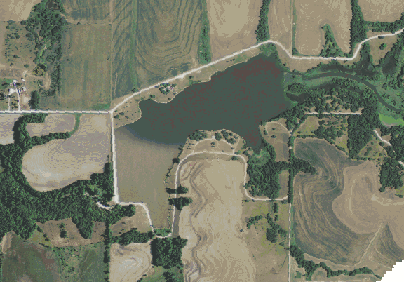 ChartSelect's contour preview for Atchison LakeMaster Layer