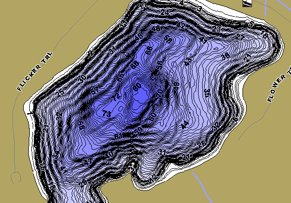 ChartSelect's contour preview for Mons LakeMaster HD Contour
