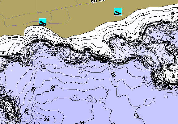 ChartSelect's contour preview for Moose LakeMaster HD Contour