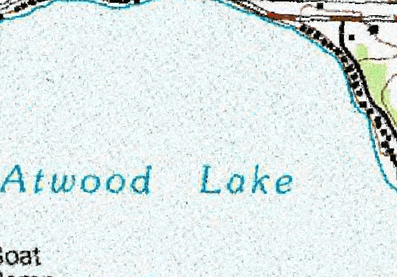ChartSelect's contour preview for Atwood LakeMaster Layer