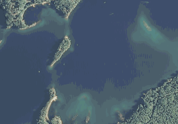 ChartSelect's contour preview for Bad Medcine LakeMaster Layer