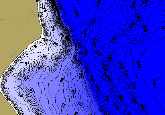 ChartSelect's contour preview for Pend Oreille LakeMaster HD Contour