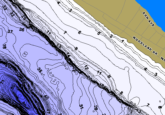 ChartSelect's contour preview for Platte LakeMaster HD Contour