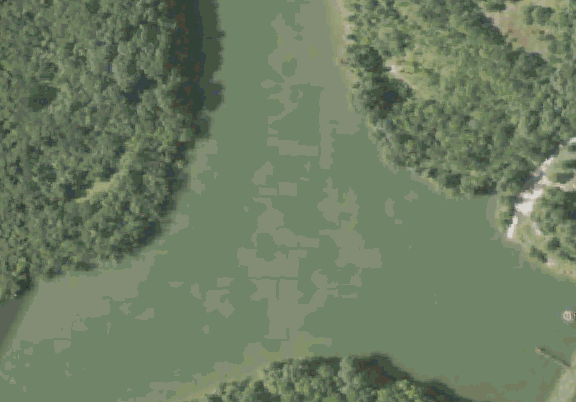 ChartSelect's contour preview for Barnsville 3 LakeMaster Layer