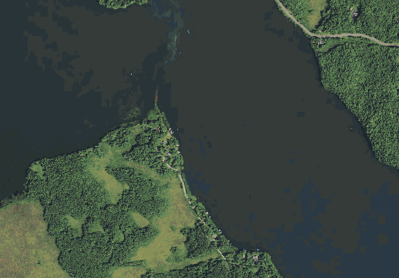 ChartSelect's contour preview for Bear LakeMaster Layer