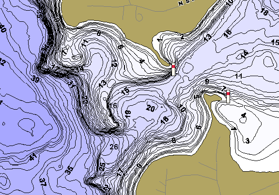 ChartSelect's contour preview for Stony LakeMaster HD Contour