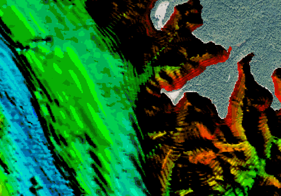ChartSelect's contour preview for Strom Thurmond LakeMaster Layer