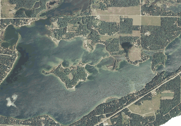 ChartSelect's contour preview for Belle Taine LakeMaster Layer