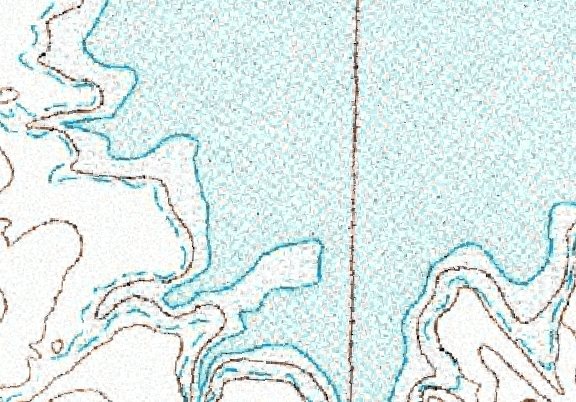 ChartSelect's contour preview for Bellfourche LakeMaster Layer