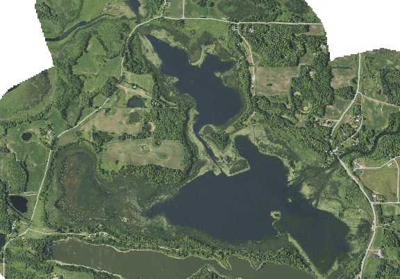 ChartSelect's contour preview for West Lost LakeMaster Layer