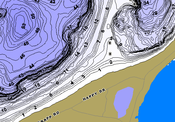 ChartSelect's contour preview for West Mcdonald LakeMaster HD Contour