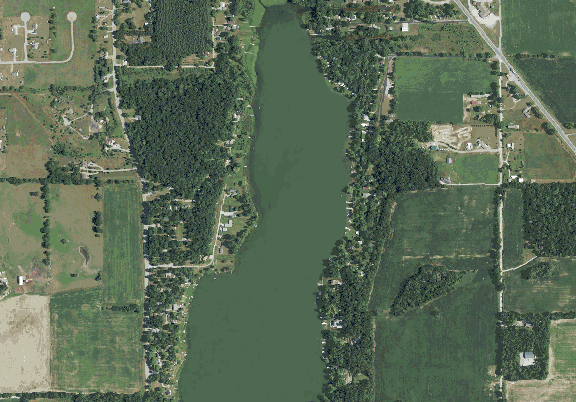 ChartSelect's contour preview for West Otter LakeMaster Layer