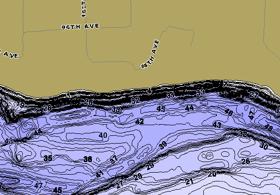 ChartSelect's contour preview for Wissota LakeMaster HD Contour