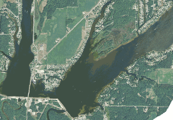ChartSelect's contour preview for Wixom LakeMaster Layer