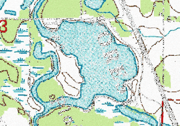 ChartSelect's contour preview for WRI LakeMaster Layer