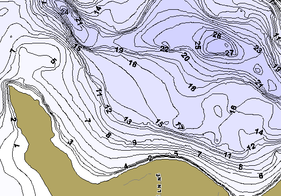 ChartSelect's contour preview for Big Boy LakeMaster HD Contour