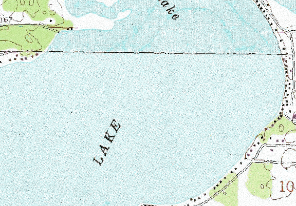 ChartSelect's contour preview for Big Floyd LakeMaster Layer